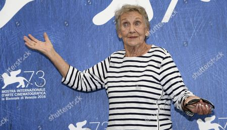Stock Image of Austrian Actress Ingrid Burkhard Poses During a Photocall For 'Die Einsiedler' (the Eremites) at the 73rd Annual Venice International Film Festival in Venice Italy 02 September 2016 the Festival Runs From 31 August to 10 September Italy Venice