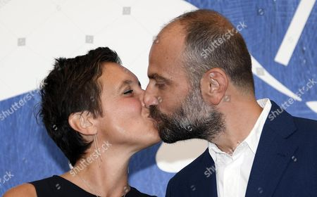Stock Photo of Italian Directors Massimo D'anolfi (r) and Martina Parenti (l) Pose During a Photocall For 'Spira Mirabilis' at the 73rd Annual Venice International Film Festival in Venice Italy 04 September 2016 the Festival Runs From 31 August to 10 September Italy Venice