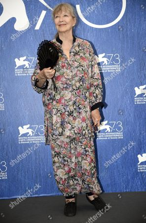 French Actress Marina Vlady Poses During a Photocall For 'Spira Mirabilis' at the 73rd Annual Venice International Film Festival in Venice Italy 04 September 2016 the Festival Runs From 31 August to 10 September Italy Venice
