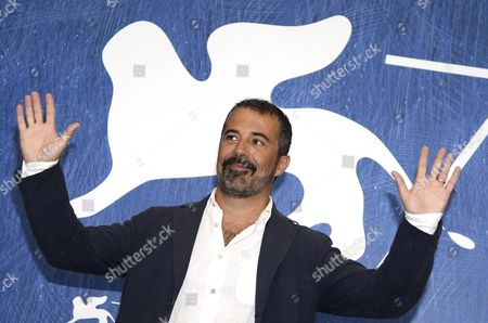 Italian Film Director Francesco Munzi Poses During a Photocall For 'Assalto Dal Cielo' During the 73rd Venice Film Festival in Venice Italy 06 September 2016 the Movie is Presented in out of Competition at the Festival Running From 31 August to 10 September Italy Venice