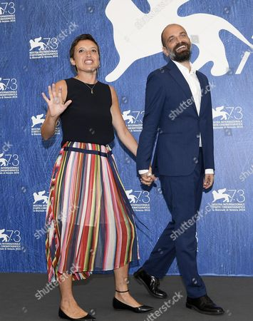 Italian Directors Massimo D'anolfi (r) and Martina Parenti (l) Pose During a Photocall For 'Spira Mirabilis' at the 73rd Annual Venice International Film Festival in Venice Italy 04 September 2016 the Festival Runs From 31 August to 10 September Italy Venice