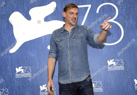Belgian Actor Peter Van Den Begin Poses During a Photocall For 'King of the Belgians' at the 73rd Annual Venice International Film Festival in Venice Italy 03 September 2016 the Festival Runs From 31 August to 10 September Italy Venice