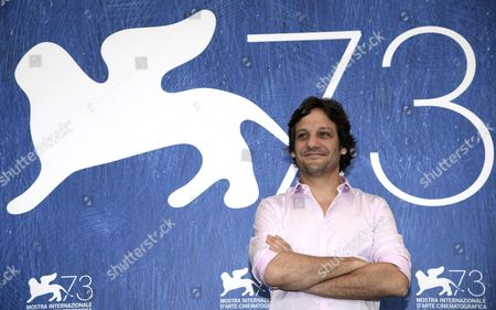 Stock Image of Argentinian Actor Rodrigo De La Serna Poses During a Photocall For 'Inseparables' During the 73rd Venice Film Festival in Venice Italy 05 September 2016 the Movie is Presented in the 'Cinema Nel Giardino' Section at the Festival Running From 31 August to 10 September Italy Venice