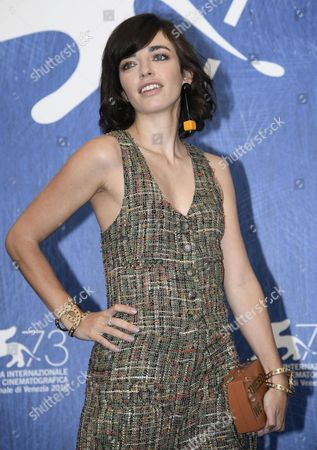Argentinean Actress Belen Chavanne Poses During a Photocall For 'El Ciudadano Ilustre' (the Distinguished Citizen) at the 73rd Annual Venice International Film Festival in Venice Italy 04 September 2016 the Festival Runs From 31 August to 10 September Italy Venice