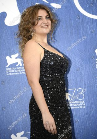 Argentinian Actress Laila Maltz Poses During a Photocall For 'Kekszkallu' at the 73rd Annual Venice International Film Festival in Venice Italy 07 September 2016 the Festival Runs From 31 August to 10 September Italy Venice