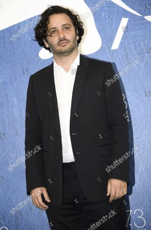 Argentinian Film Maker Gaston Solnicki Poses During a Photocall For 'Kekszkallu' at the 73rd Annual Venice International Film Festival in Venice Italy 07 September 2016 the Festival Runs From 31 August to 10 September Italy Venice