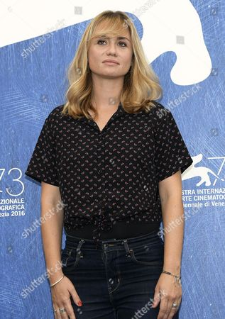 French Film Director and Screenwriter Katell Quillevere Poses During a Photocall For 'Reparer Les Vivants' at the 73rd Annual Venice International Film Festival in Venice Italy 04 September 2016 the Festival Runs From 31 August to 10 September Italy Venice