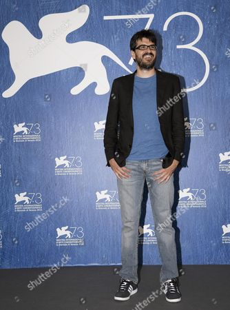 Italian Director Roan Johnson Poses During a Photocall For 'Piuma' at the 73rd Annual Venice International Film Festival in Venice Italy 05 September 2016 the Movie is Presented in the Official Competition Venezia 73 at the Festival That Runs From 31 August to 10 September Italy Venice