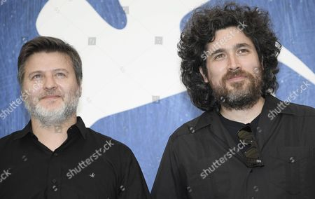 Argentine Directors Mariano Cohn (r) and Gaston Duprat (l) Pose During a Photocall For 'El Ciudadano Ilustre' (the Distinduished Citizen) at the 73rd Annual Venice International Film Festival in Venice Italy 04 September 2016 the Festival Runs From 31 August to 10 September Italy Venice