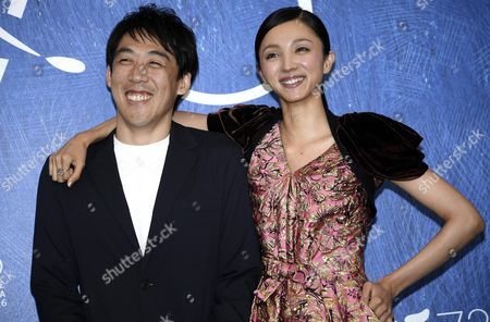 Japanese Film Director Kei Ishikawa (l) and Japanese Actress Hikari Mitsushima (r) Pose During a Photocall For 'Gukoroku' (traces of Sin) During the 73rd Venice Film Festival in Venice Italy 06 September 2016 the Movie is Presented in the 'Orizzonti' Section at the Festival Running From 31 August to 10 September Italy Venice