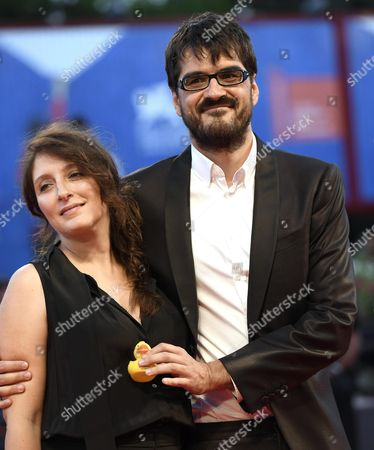 Italian Director Roan Johnson (r) and His Wife Ottavia Madeddu Arrive For the Premiere of 'Piuma' at the 73rd Annual Venice International Film Festival in Venice Italy 05 September 2016 the Festival Runs From 31 August to 10 September Italy Venice