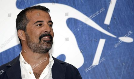 Stock Photo of Italian Film Director Francesco Munzi Poses During a Photocall For 'Assalto Dal Cielo' During the 73rd Venice Film Festival in Venice Italy 06 September 2016 the Movie is Presented in out of Competition at the Festival Running From 31 August to 10 September Italy Venice