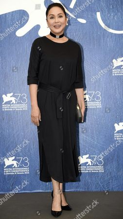 Stock Image of Filipino Actress Charo Santos-concio Poses During a Photocall For 'Ang Babaeng Humayo' (the Woman who Left) at the 73rd Annual Venice International Film Festival in Venice Italy 09 September 2016 the Festival Runs From 31 August to 10 September Italy Venice
