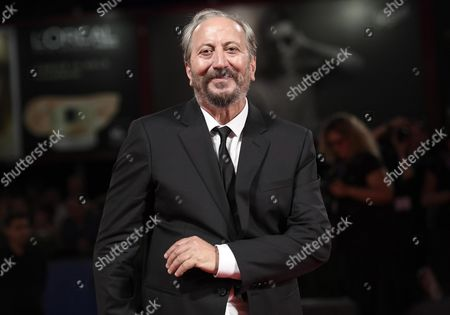 Italian Director Giuseppe Piccioni Arrives For the Premiere of 'Questi Giorni' at the 73rd Annual Venice International Film Festival in Venice Italy 08 September 2016 the Festival Runs From 31 August to 10 September Italy Venice
