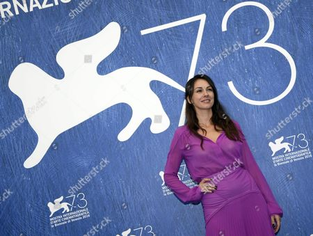 Serbian Actress Sloboda Micalovic Poses During a Photocall For 'Na Mlijecnom Putu' (on the Milky Road) During the 73rd Venice Film Festival in Venice Italy 09 September 2016 the Festival Runs From 31 August to 10 September Italy Venice