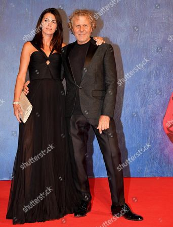Italian Fashion Entrepreneur Renzo Rosso (r) and Partner Arianna Alessi Arrive For the Premiere of 'Franca: Chaos and Creation' During the 73rd Venice Film Festival in Venice Italy 02 September 2016 the Movie is Presented in the 'Cinema Nel Giardino' Section at the Festival Running From 31 August to 10 September Italy Venice