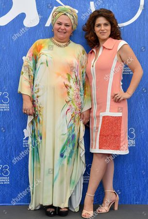 Israeli Director Rama Burshtein (l) and Israeli Actress Noa Koler Pose During a Photocall For 'Laavor Et Hakir' (through the Wall) at the 73rd Venice Film Festival in Venice Italy 01 September 2016 the Movie is Presented in the 'Orizzonti' Section at the Festival Running From 31 August to 10 September Italy Venice