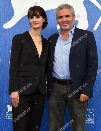 French Director Stephane Brize (r) and French Actress Judith Chemla Pose During a Photocall For 'Une Vie' at the 73rd Annual Venice International Film Festival in Venice Italy 06 September 2016 the Movie is Presented in the Official Competition 'Venezia 73' at the Festival Running From 31 August to 10 September Italy Venice