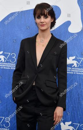 French Actress Judith Chemla Poses During a Photocall For 'Une Vie' at the 73rd Annual Venice International Film Festival in Venice Italy 06 September 2016 the Movie is Presented in the Official Competition 'Venezia 73' at the Festival Running From 31 August to 10 September Italy Venice