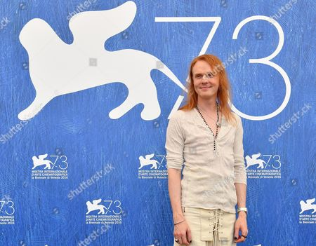 Stock Photo of Australian Director Nicholas Verso Poses During a Photocall For 'Boys in the Trees' at the 73rd Annual Venice International Film Festival in Venice Italy 09 September 2016 the Festival Runs From 31 August to 10 September Italy Venice