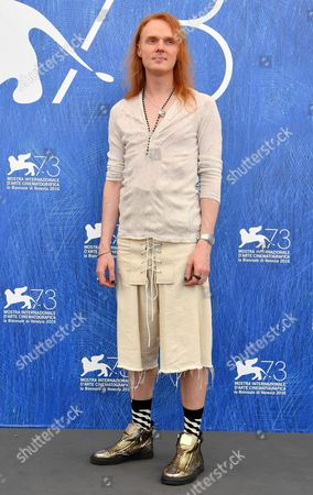 Stock Image of Australian Director Nicholas Verso Poses During a Photocall For 'Boys in the Trees' at the 73rd Annual Venice International Film Festival in Venice Italy 09 September 2016 the Festival Runs From 31 August to 10 September Italy Venice