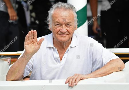 Polish Film Director Jerzy Skolimowski Arrives at the Lido Beach at the 73rd Venice Film Festival in Venice Italy 05 September 2016 the Festival Runs From 31 August to 10 September Italy Venice