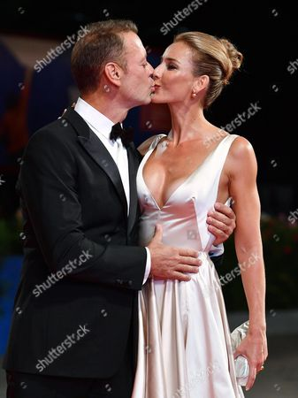Italian Actor Rocco Siffredi (l) and His Wife Rozsa Tassi (rosa Tassi) Arrive For the Premiere of 'Rocco' at the 73rd Annual Venice International Film Festival in Venice Italy 05 September 2016 the Festival Runs From 31 August to 10 September Italy Venice