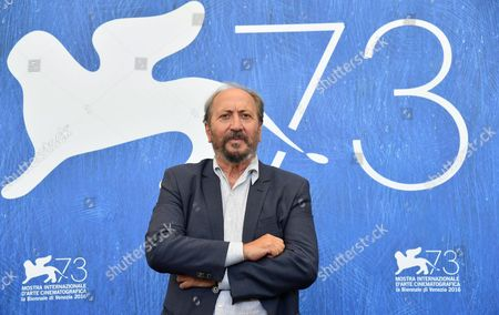 Italian Director Giuseppe Piccioni Poses During a Photocall For 'Questi Giorni' at the 73rd Annual Venice International Film Festival in Venice Italy 08 September 2016 the Festival Runs From 31 August to 10 September Italy Venice