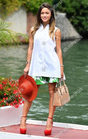 Italian Actress Alice Bellagamba Arrives at the Lido Beach During the 73rd Annual Venice International Film Festival in Venice Italy 07 September 2016 the Festival Runs From 31 August to 10 September Italy Venice