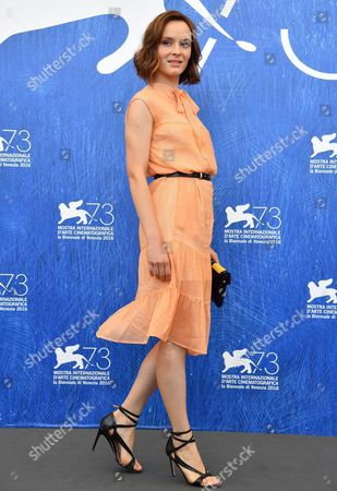 Italian Actress Maria Roveran Poses During a Photocall For 'Questi Giorni' at the 73rd Annual Venice International Film Festival in Venice Italy 08 September 2016 the Festival Runs From 31 August to 10 September Italy Venice