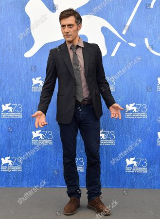Italian Actor Filippo Timi Poses During a Photocall For 'Questi Giorni' at the 73rd Annual Venice International Film Festival in Venice Italy 08 September 2016 the Festival Runs From 31 August to 10 September Italy Venice