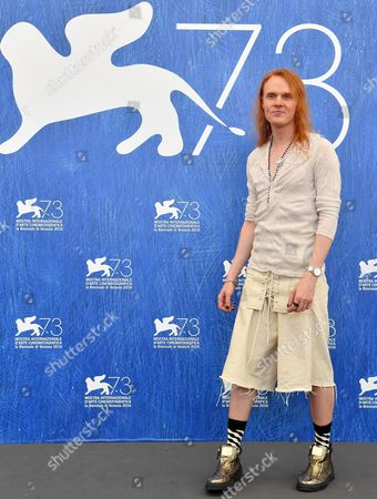 Australian Director Nicholas Verso Poses During a Photocall For 'Boys in the Trees' at the 73rd Annual Venice International Film Festival in Venice Italy 09 September 2016 the Festival Runs From 31 August to 10 September Italy Venice