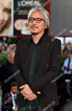 Filipino Film Maker Lav Diaz Arrives at the Awarding Ceremony of the 73rd Annual Venice International Film Festival in Venice Italy 10 September 2016 the Festival Runs From 31 August to 10 September Italy Venice