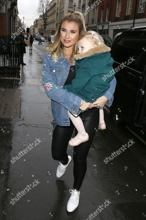 Stock Image of Billie Faiers, Nelly Samantha Shepherd