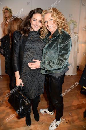 Stock Image of Natasha Corrett and Kelly Hoppen