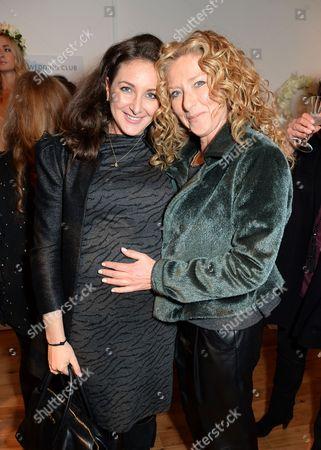 Natasha Corrett and Kelly Hoppen