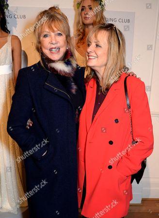 Pattie Boyd and Twiggy