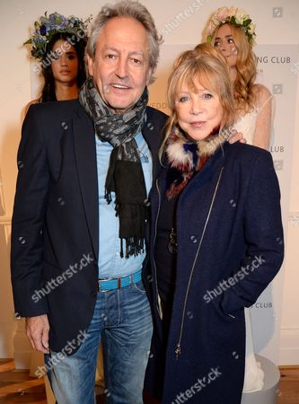 Rod Weston and Pattie Boyd