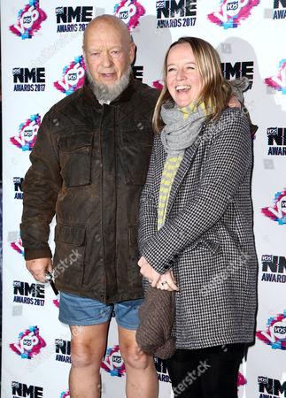 Emily Eavis and Michael Eavis