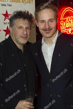 Patrick Marber (Director) and Peter McDonald (James Joyce)