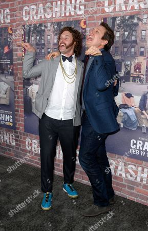 TJ Miller and Pete Holmes