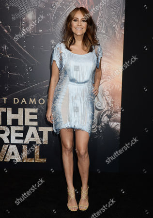 Editorial image of 'The Great Wall' film premiere, Los Angeles, USA - 15 Feb 2017