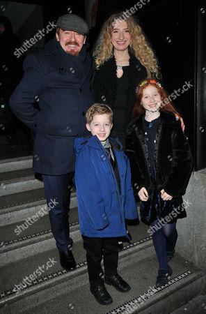 Forbes Masson, Melanie Masson with their children