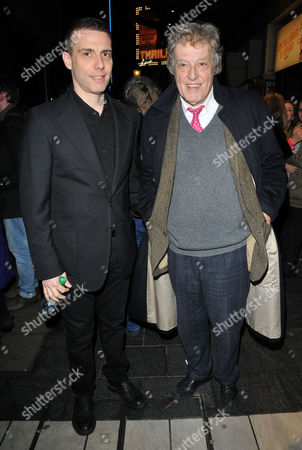 Will Stoppard and Sir Tom Stoppard