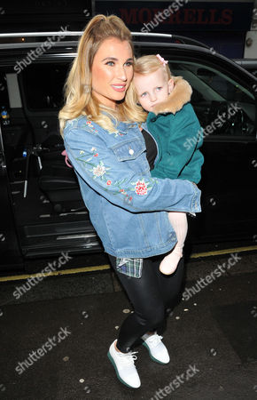 Stock Photo of Billie Faiers and Nelly Samantha Shepherd