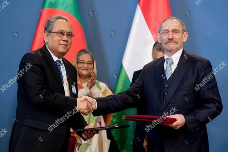 Editorial image of Hungary Bangladesh Diplomacy - Nov 2016