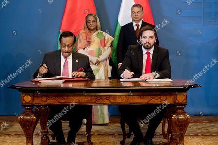 Editorial picture of Hungary Bangladesh Diplomacy - Nov 2016