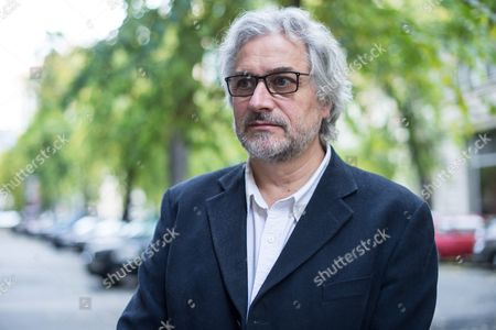 A Picture Made Available on 31 October 2016 Shows Dutch Michael Dudok De Wit Academy Award Winning Dutch Animated Film Director Posing For a Photograph in Front of Puskin Cinema in Budapest Hungary 29 October 2016 the Artist Gave an Interview to Hungarian News Agency Mti Regarding the Hungarian Premiere of His Latest Film Entitled the Red Turtle Hungary Budapest