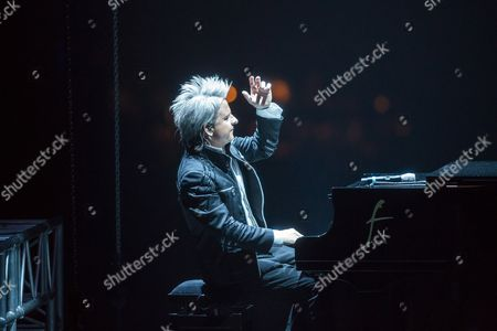 Photo Made Available 11 December 2016 of Hungarian Pianist and Composer Balazs Havasi Performing His Havasi Symphonic Concert at the Papp Laszlo Sports Arena in Budapest Hungary 10 December 2016 Hungary Budapest
