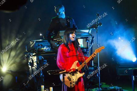 A Photo Made Available on 05 November 2016 Shows English Singer Songwriter and Multi-instrumentalist Natasha Khan Better Known by Her Stage Name Bat For Lashes As She Performs During the Telekom Electronic Beats Festival at the Akvarium Klub in Budapest Hungary 04 November 2016 Hungary Budapest